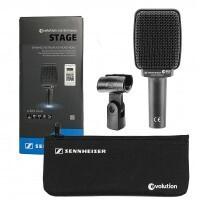 Sennheiser E609-SILVER-2 | Microfono para Guitarra y Estudio en Vivo Negro