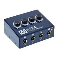 LD SYSTEMS LDHPA4   Amplificador de auriculares de 4 canales