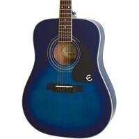 EPIPHONE EAPPTLCH1 | GUITARRA ACÚSTICA PRO-1 PLUS TRANSPARENT BLUE