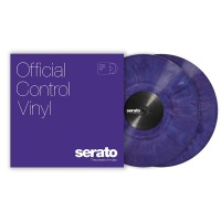 "Serato SCV-PS-PUR-OV | Vinilo de Control para Serato Scratch Live o DVS 12"" Purpura"