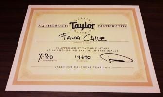 Fama Chile: Distribuidor OFICIAL de guitarras Taylor