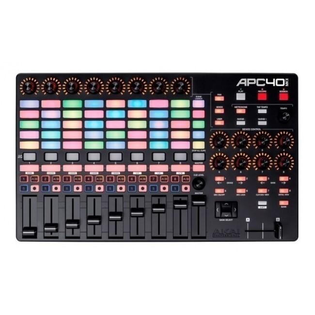 AKAI APC40MK2   Controlador Dj Ableton Live Midi Profesional