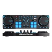 Hercules HER-COMPACT | Controlador DJ de 2 Canales
