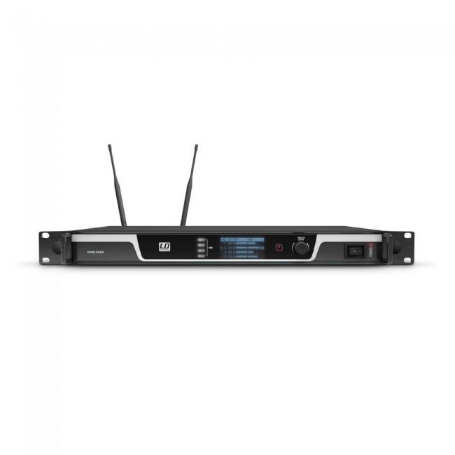 LD SYSTEMS  LDU508CS4   Sistema de conferencias inalámbrico de 4 canales