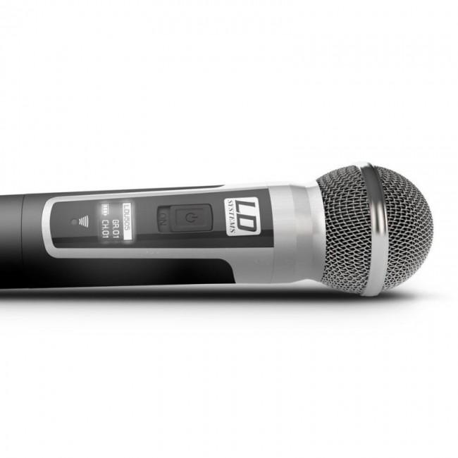 LD SYSTEMS LDU505HHD2 | Sistema de micrófono inalámbrico doble
