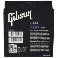 GIBSON SAG-J200 | Cuerdas de guitarra acústica Phosphor Bronze
