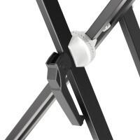 Adam Hall SKS03 | Soporte robusto para Teclado en doble X