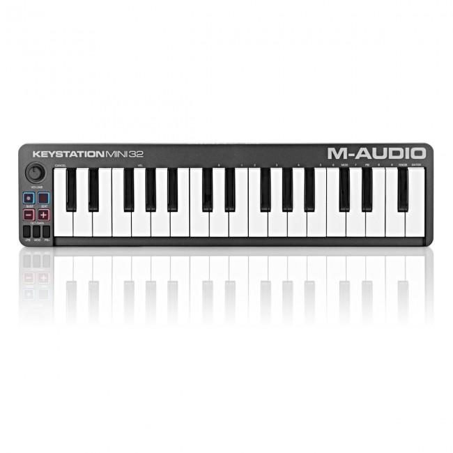 M-Audio KEYSTATIONMINI32II | Controlador MIDI/USB de 32 Mini Teclas 2 Octavas