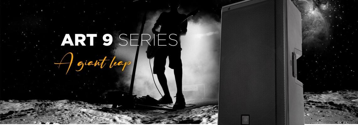 La serie ART 9 es una evolución del concepto de altavoz ART y una revolución en el sonido portátil