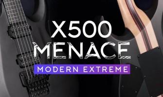 La guitarra eléctrica X500 Menace de Cort Guitars es una versión oscura y agresiva que fue pensada para convertirse en el próximo buque insignia de la empresa.