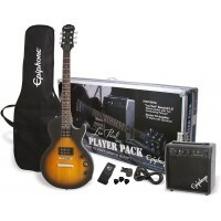 Epiphone PPEG-EGL1VSCH1 | Pack Guitarra Eléctrica Les Paul Player Vintage Sunburst