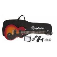 Epiphone PPEG-ENOPHSCH3 | Pack Guitarra Eléctrica Les Paul Heritage Cherry Sunburst