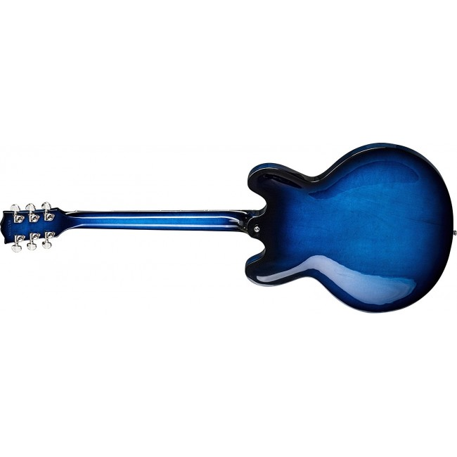 GIBSON  ESD18BZNH1 | Guitarra Dot Blue Burst