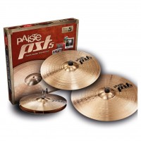 PAISTE PST5 N ROCK SET | Set de Platillos Hi-hat 14 + Rock Crash 16 + Rock Ride