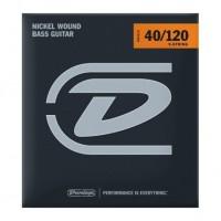 DUNLOP 100231 | Cuerdas para Bajo Eléctrico de Nickel Calibres 40-120