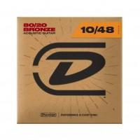 DUNLOP 100292 | Cuerdas de Bronce para Guitarra Acústica Calibres 10-48