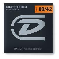 DUNLOP DEN0942 | Cuerdas Niquel para Guitarra Eléctrica 6 Cuerdas Calibres 9-42