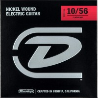 DUNLOP 101240 | Cuerdas para guitarra eléctrica 7 cuerdas 10-56