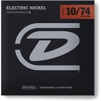 DUNLOP 101241 | Juego de 8 cuerdas para guitarra eléctrica DEN1074 8 calibres 10/74