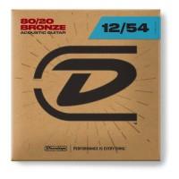 DUNLOP 101249 | Cuerdas Guitarra Acústica Bronce 80/20 calibres 12-54