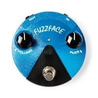 DUNLOP 141118 | Pedal de Distorsion FFM1 Silicon Fuzz Face Mini Blue
