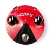DUNLOP FFM2 GE FUZZ FACE MINI RED | Pedal Clásico Compactado con Controles de Volumen y Fuzz