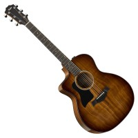 TAYLOR 224CE-K-DLX-LH | Guitarra Electroacústica Koa Deluxe para Zurdos