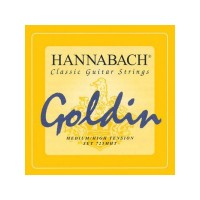 HANNABACH 725MHT | Cuerdas para Guitarra Clásica Goldin Medium High
