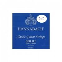 HANNABACH 800HT | Cuerdas de Guitarra Clásica/Flamenca High Tension Azul