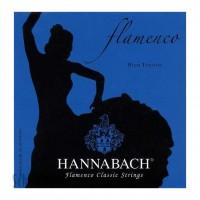 HANNABACH 827HT   Cuerdas para Guitarra Clásica Flamenca High Tension Azul