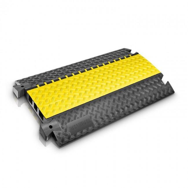 DEFENDER 85002 | Pasacables de 3 con tapa traslúcida