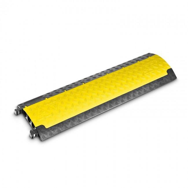 Defender 85200 | Pasacables de 3 Canales con tapa