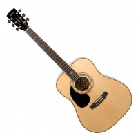 CORT AD880-LH-NAT | Guitarra Acústica de 6 Cuerdas para Zurdos