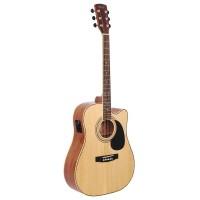 CORT AD880CE-NS | Guitarra Electroacústica Natural Satin