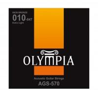 OLYMPIA AGS570 | Cuerdas para Guitarra Eléctrica Extra Light Calibres 10-47