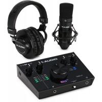 M-AUDIO AIR192X4SPRO | Paquete de Grabación de Voz con Interfaz de Audio USB 2x2