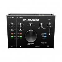 M-AUDIO AIR192X8 | Interfaz USB/MIDI 2x4 con Mic Dual