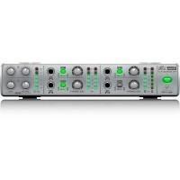 Behringer AMP800 | Amplificador de Auriculares Estéreo Ultracompacto de 4 Canales