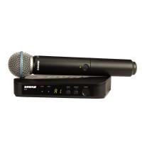 SHURE BLX24-BETA58 | Micrófono inalámbrico profesional con cápsula BETA58