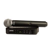 Shure BLX24-SM58 | Sistema Inalámbrico de Mano Con Micrófono de Mano SM58