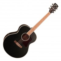 CORT CJ-MEDX-BKS | Guitarra Electroacústica Black Satin