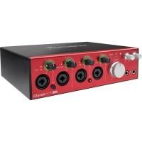 Focusrite CLARETT-4-PRE | Interfaz de Audio de 18 Entradas y 8 Salidas para PC y Mac®