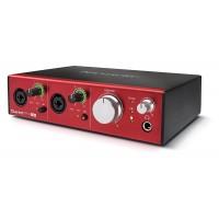Focusrite CLARETT2-PRE-USB | Interfaz de Audio de 10 Entradas y 4 Salidas para PC y Mac®