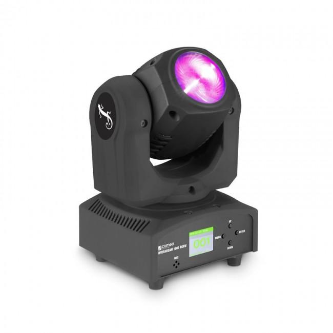 CAMEO CLHB1000RGBW   Cabezal móvil con 32 watts RGBW Quad-LED
