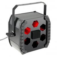 CAMEO CLMOVER1 | Luz LED tricolor de 9 watts RGB con control DMX