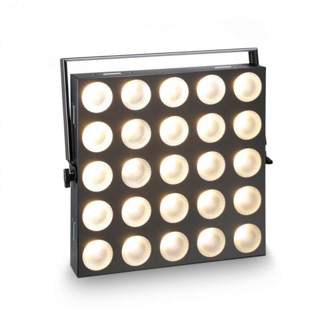 CAMEO CLMP3WW   Panel de matriz 5×5 blanco de 3 watts con control individual de píxeles