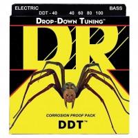 DR STRING DDT40 | Cuerdas para Bajo Eléctrico Calibres 40-100