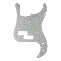 D ANDREA DPP-PB-SIS   Pickguard P-Bass para Guitarra Silver Sparkle