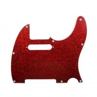 D ANDREA DPP-TL-RDS | Pickguard Tele para Guitarra Red Sparkle