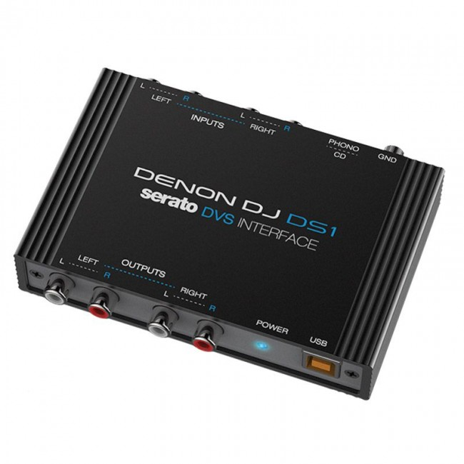 Denon Dj DS1 | Interfaz De Audio De Vinilo Digital Serato